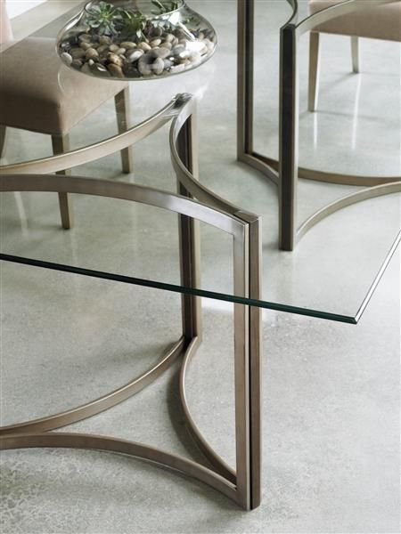 Caracole Light In The Clear Dining Table The Geometric