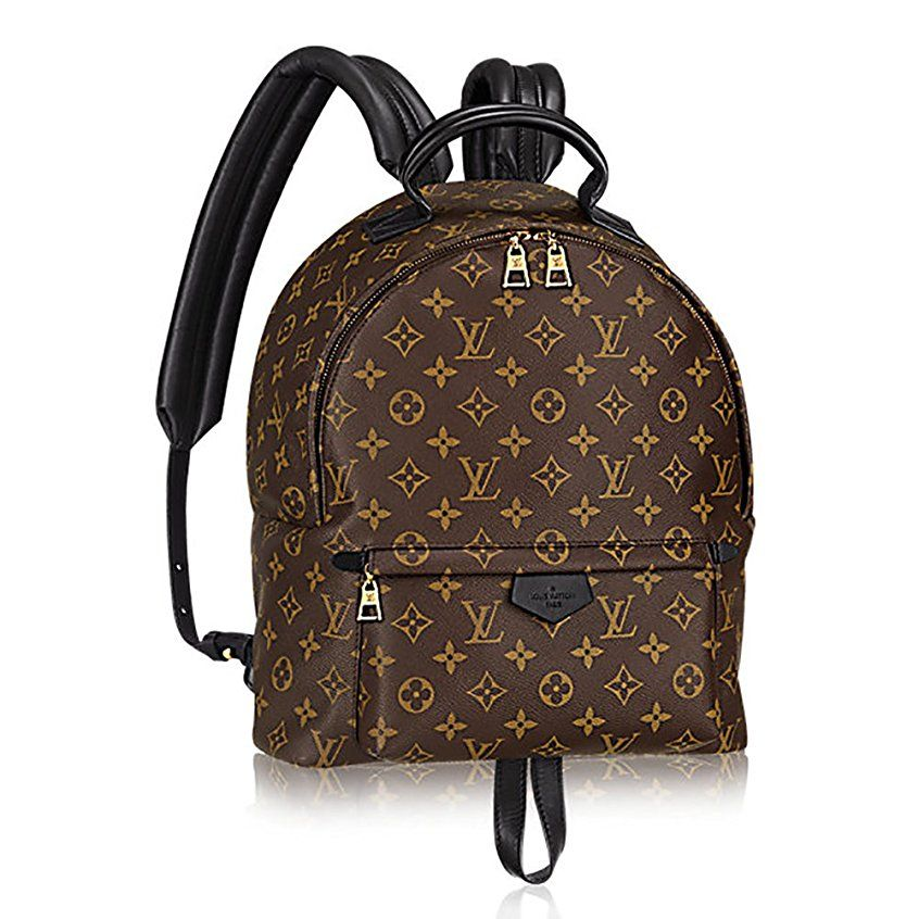 b5f59e9ce784 Authentic Louis Vuitton Monogram Canvas Palm Springs Backpack MM Handbag  Article  M41561 Made in France