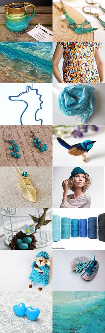 shades of the sea by Olesya Yakymovych on Etsy--Pinned with TreasuryPin.com