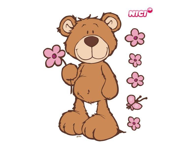 wandtattoo classic bears  teddy bear drawing teddy bear