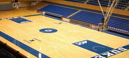 March Madness Creating Gym Floors For The Final Four Gym Flooring Basketball Floor March Madness