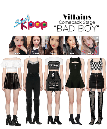 Villains Official On Shoplook The Easiest Way To Find The Perfect Outfit Kpop Fashion Outfits Crush Clothing Movie Inspired Outfits