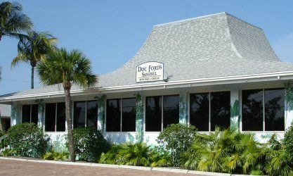 Doc Ford's Rum Bar & Grille Sanibel Island location - You'll also find them Captiva and Fort Myers Beach!