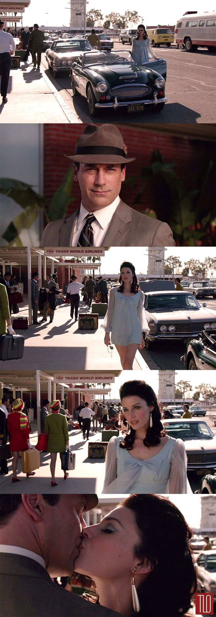 Could be the most stylized scene Mad Men has ever produced. Perfection.