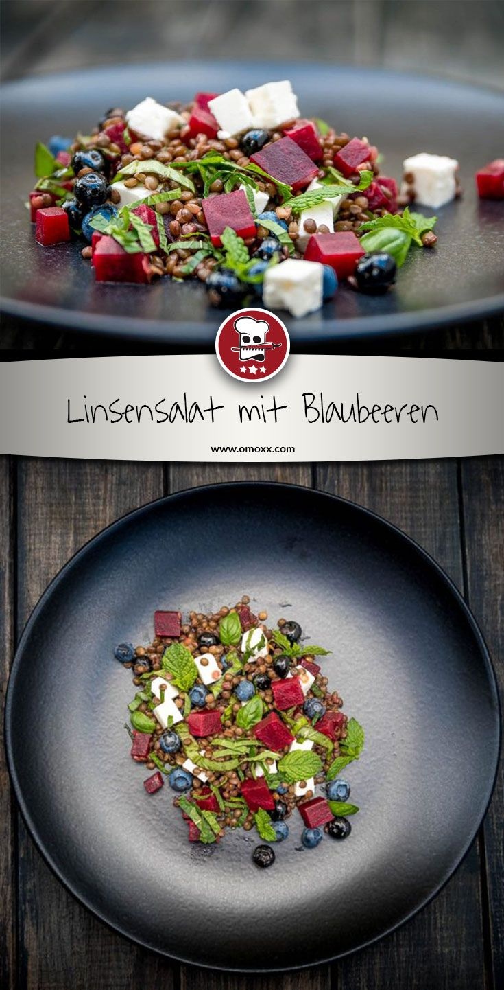 linsensalat mit blaubeeren und roter beete rezept salate pinterest. Black Bedroom Furniture Sets. Home Design Ideas