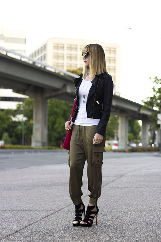 silk cargo pants | Vanilla Extract | Pinterest | Pants, Colors and ...