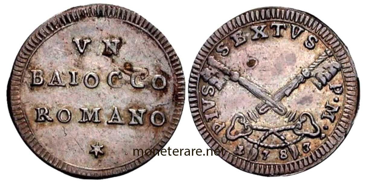 Moneta rara BAIOCCO ROMANO | Monete