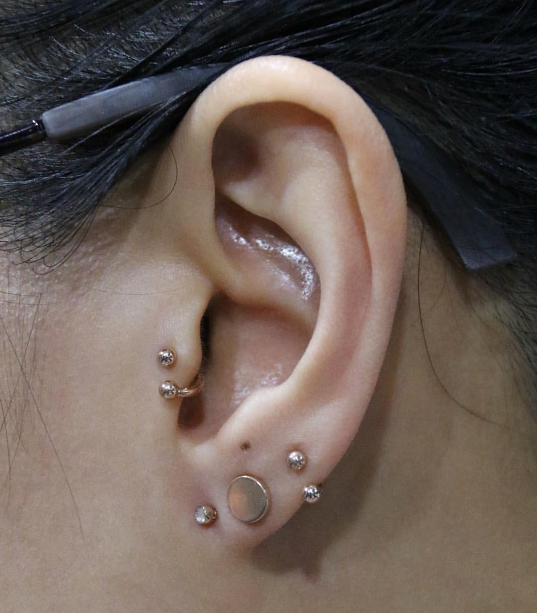 Nose piercing earrings  See this Instagram photo by industriebodypiercing u  likes