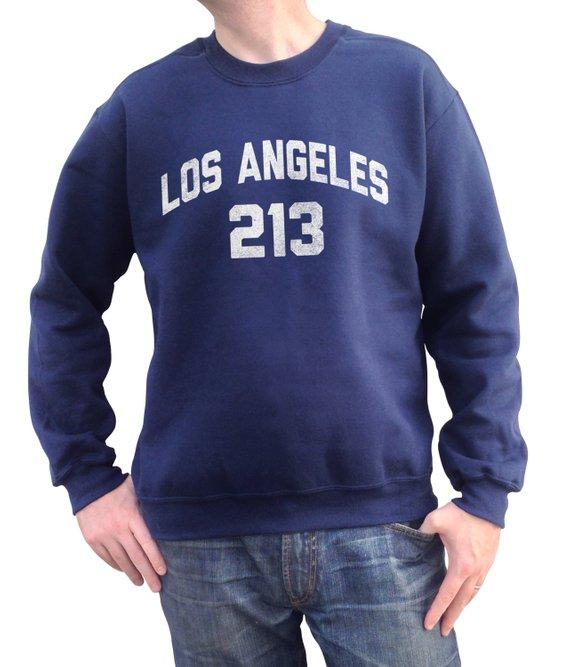 213 area code location california