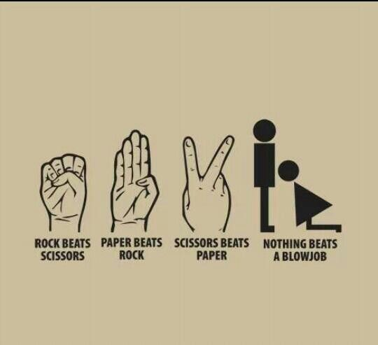 I always choose bj in rock paper scissors bj. Unless I play a guy.