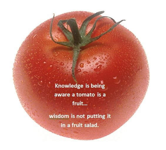 A tomato is a fruit...