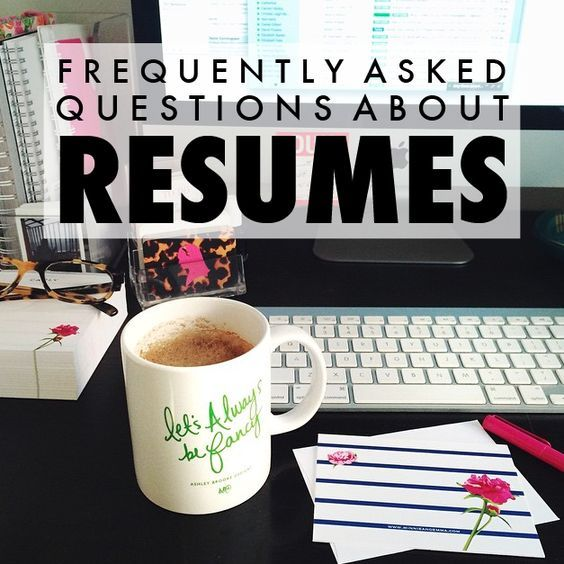 Frequently Asked Resume Questions Answered! Resumes Pinterest - resume questions