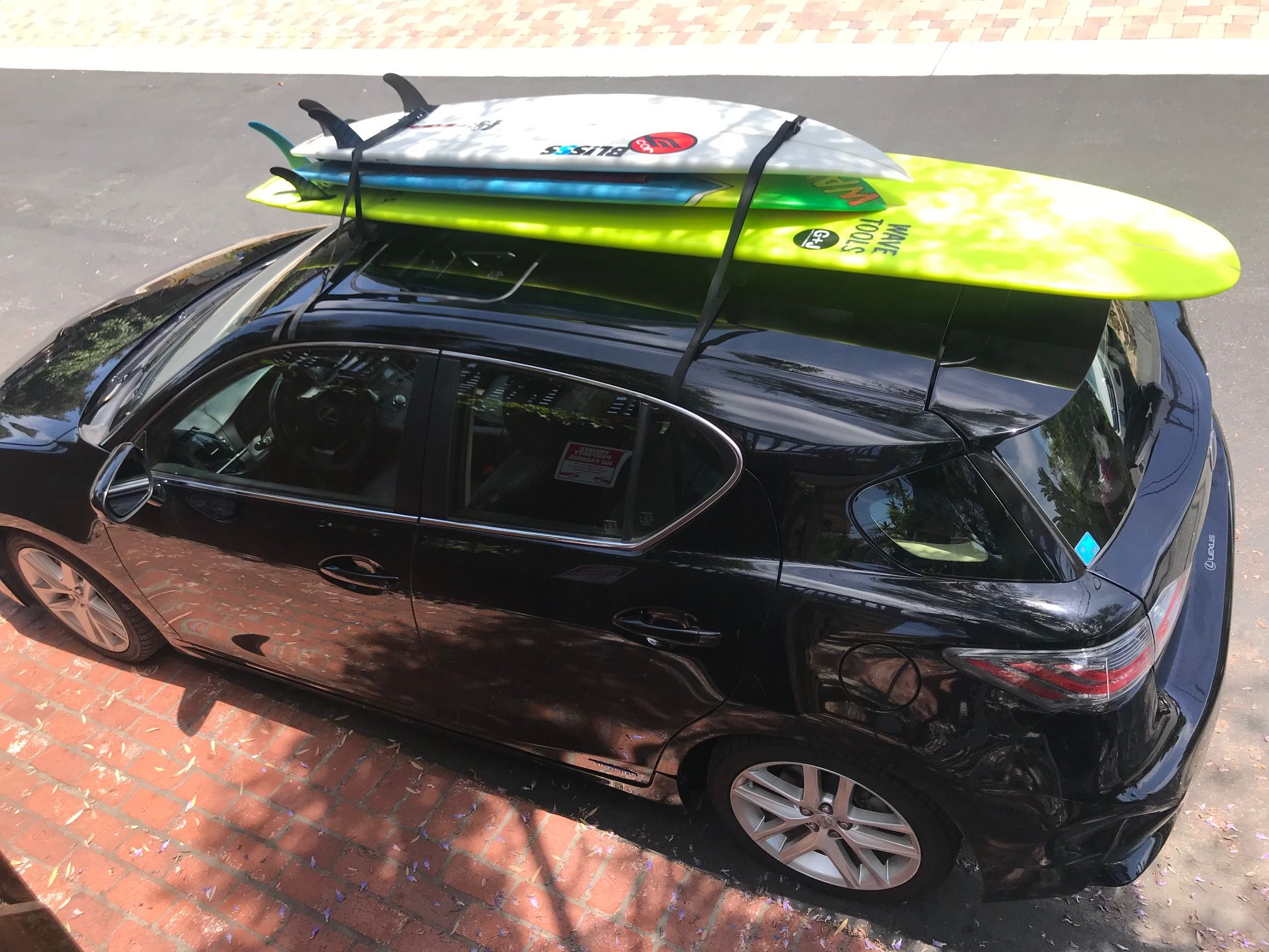 Soft Car Racks Universal Fit Roof Rack For Surf Sup Canoe Or Kayak Surf Accessories Surfboard Car Rack Surfboard Roof Rack