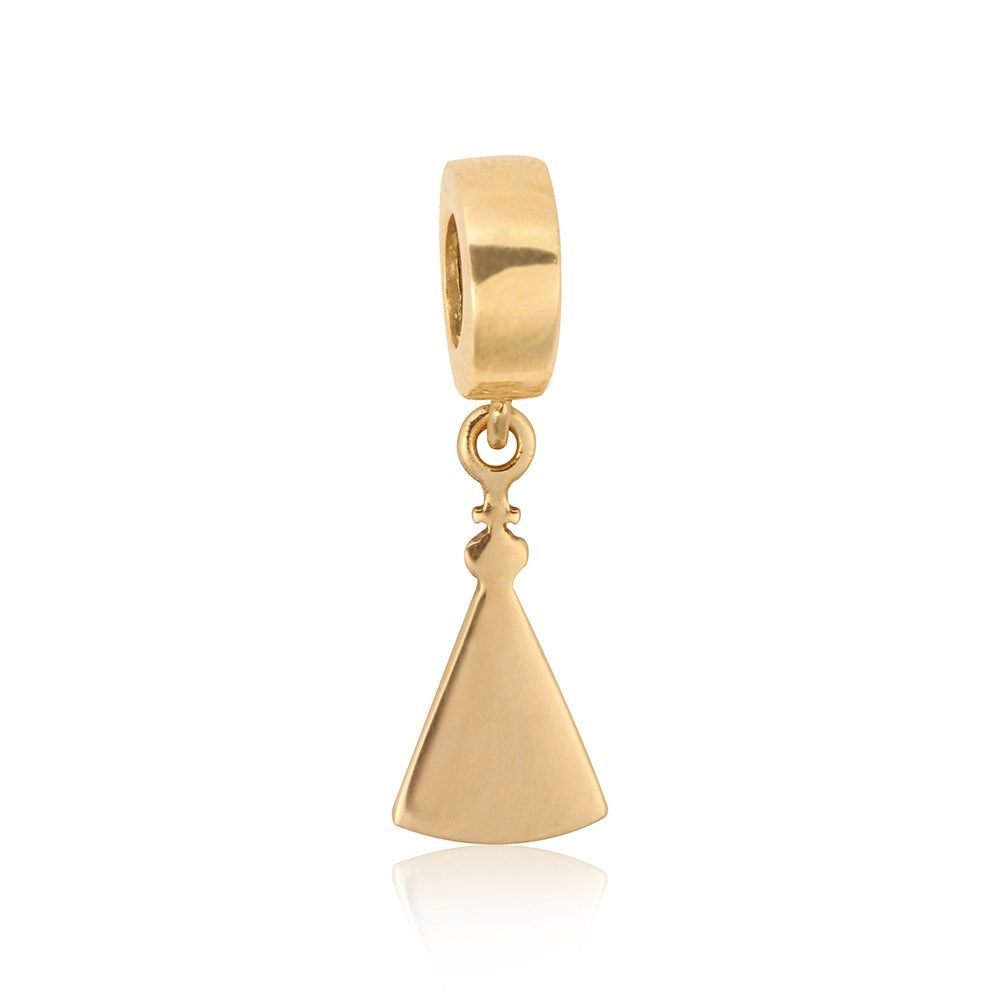 Berloque Ouro Amarelo N. Srª Aparecida  Compre na Rosana Joias   Relógios - Rosana  Joias a14978c6d9