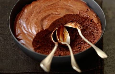Schokoladenmousse mit zwei Zutaten