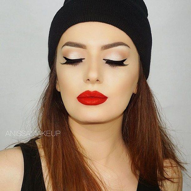 Love this look by glam babe @anissamakeup rocking her #MotivesMavens Demure palette!  #Repost  Eyes : Demure Palette @motivescosmetics  Lashes in Carmen @shophudabeauty  Brows: Dipbrow Pomade in Soft brown & Brow wiz in medium brown @anastasiabeverlyhills  Nyx liquid Suede in Kitten Heels @nyxcosmetics @nyxitalia  _______________________ Available in  &  at MotivesCosmetics.com and  at Global.Shop.com  #motivescosmetics #makeup #beauty #glam #mua #beautyjunkie #motd #makeupaddict…