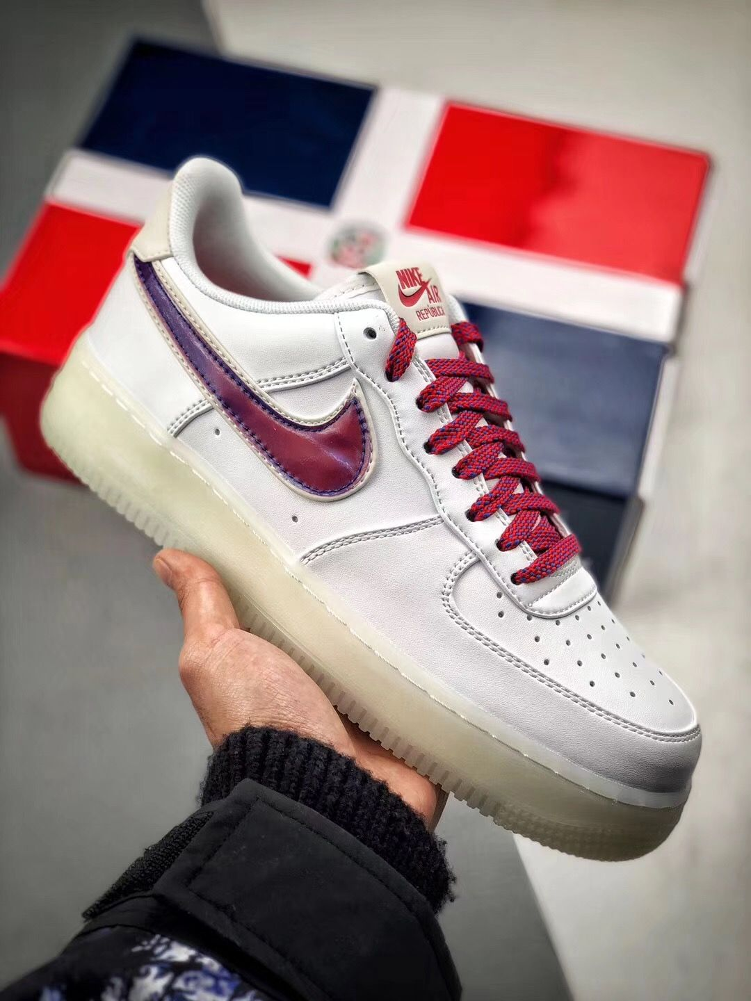 the latest 5553c 9e047 Nike Air Force 1  07 De Lo Mio AF1 BQ8448-100