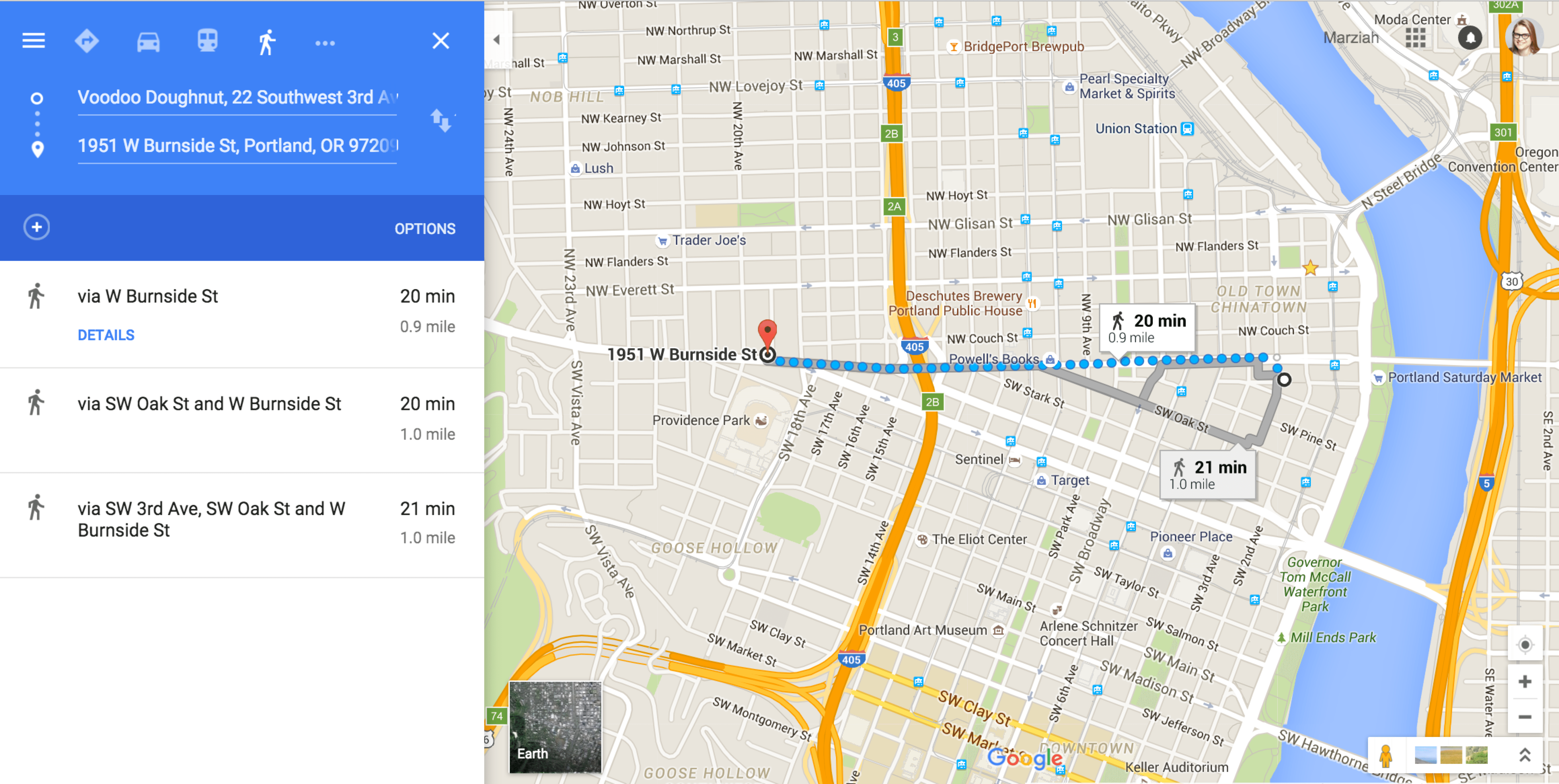 How To Get Different Routes On Google Maps App
