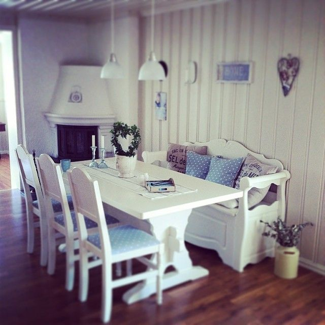 #White #Interior #Inspiration #Country #Style #Landhaus #Stars #Blue