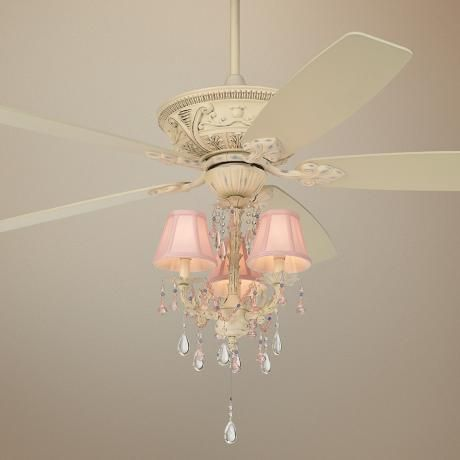 Would Be So Cute For A Little Girl S Room Ceiling Fan Light
