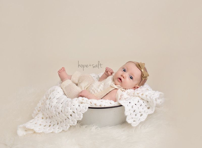 A studio session for 3 month old girl emma burlington ontario baby photographer hope