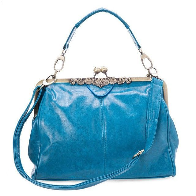 Guapabien Vintage PU Leather Women Bags Lady Messenger Crossbody Bag Women  Casual Style Tote Retro Shoulder Bag Ladies Soft Bags 23cf36f996e23