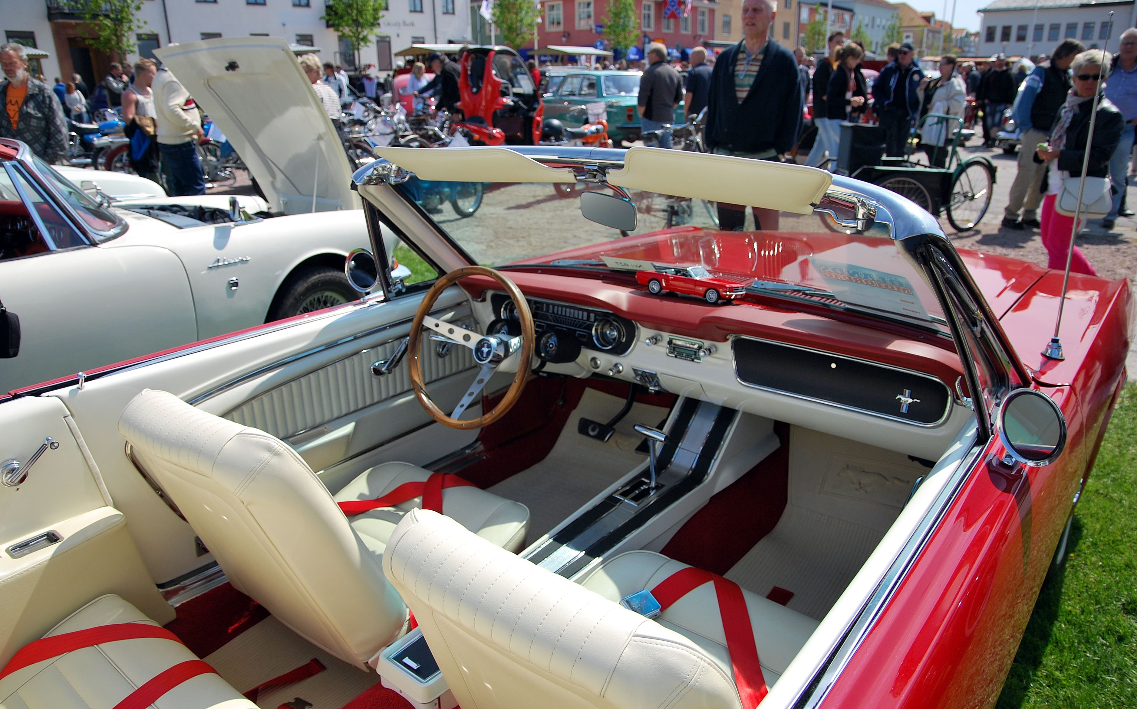 65 mustang for sale ontario - 1965 Mustang Convertible Red White Interior Google Search