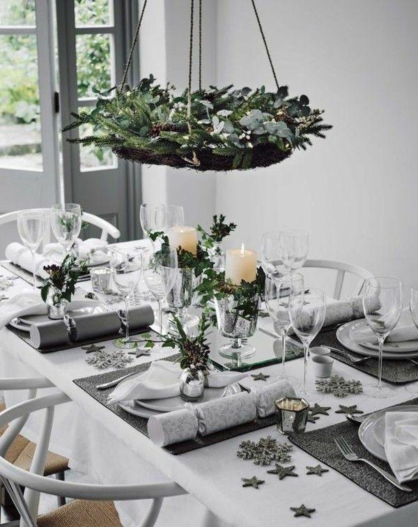 Puristische Tischdeko Im Winter 70 Stilvolle Dekoideen Die Jedem Gelingen Tischdeko Weihnachten Weihnachtstischdeko Weihnachtstischgedecke
