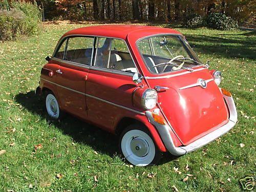1958 bmw isetta 600 limo micro car midget avez vous dit pinterest voiture. Black Bedroom Furniture Sets. Home Design Ideas
