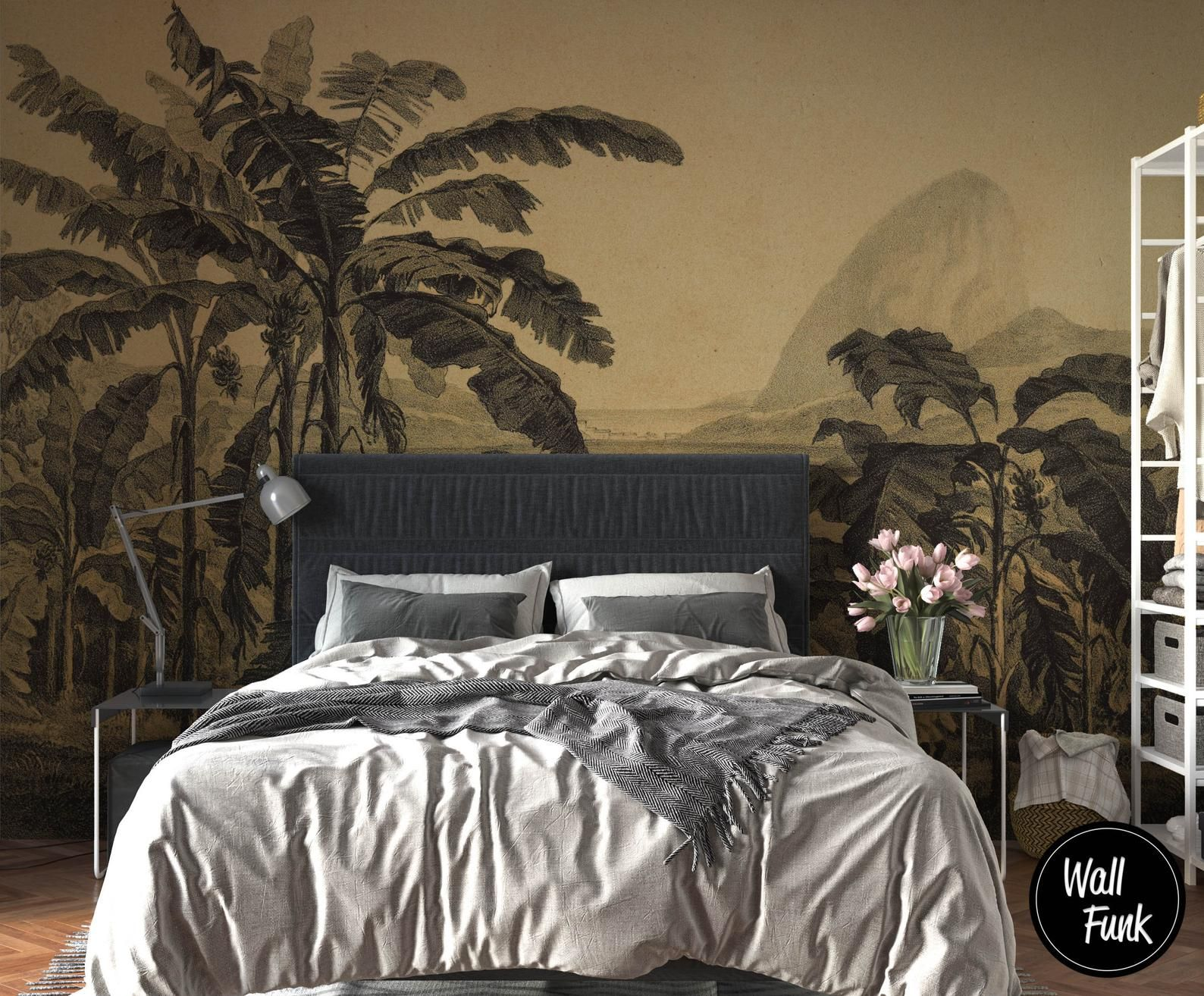 Removable Wallpaper Made With Recycled Paper, Easy To