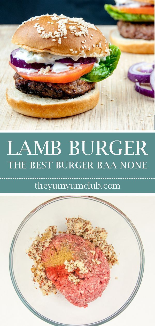 Homemade Lamb Burgers Lamb burgers are a great alternative to the traditional beef burger, and far tastier. Make them at home in no time. Try in a brioche bun with tzatziki. Yum! |