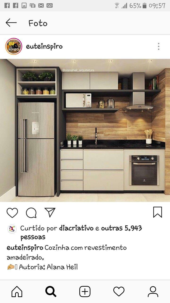 Mini cozinha planejada