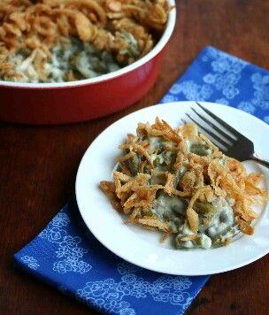 Easy green bean casserole from scratch!!