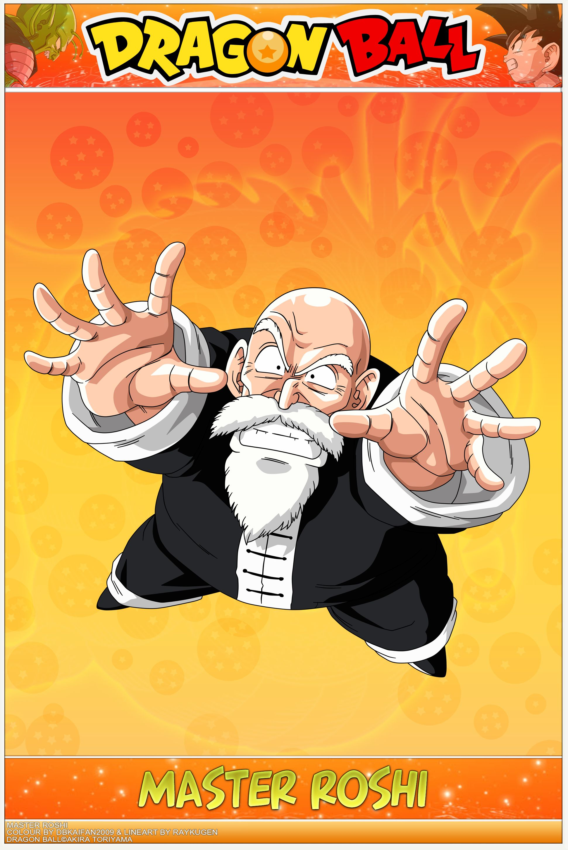 Dragon Ball - Master Roshi - Mafuba by DBCProject.deviantart.com