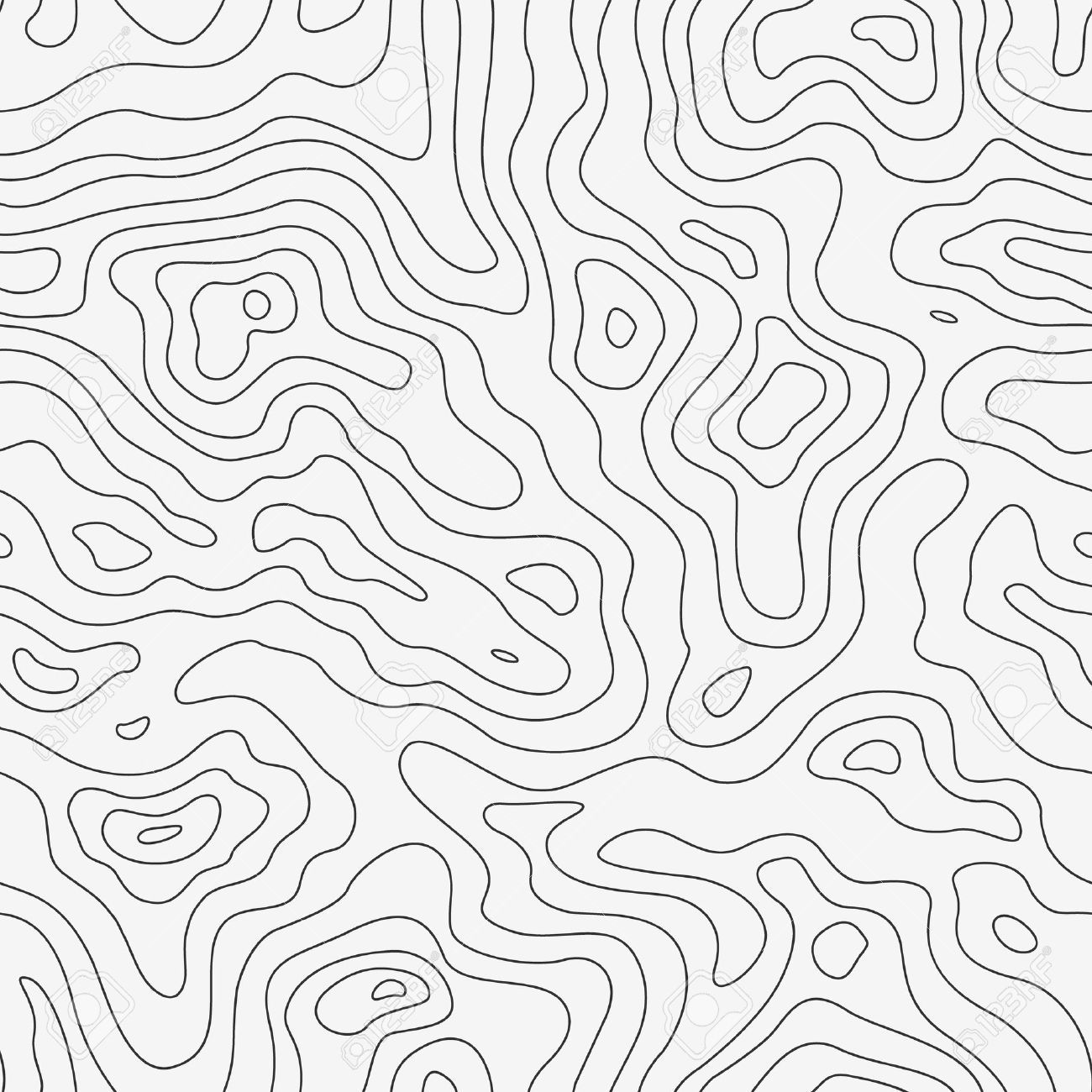 Topographic Map Vector Free.Topographic Map Seamless Pattern Vector Background In 2019