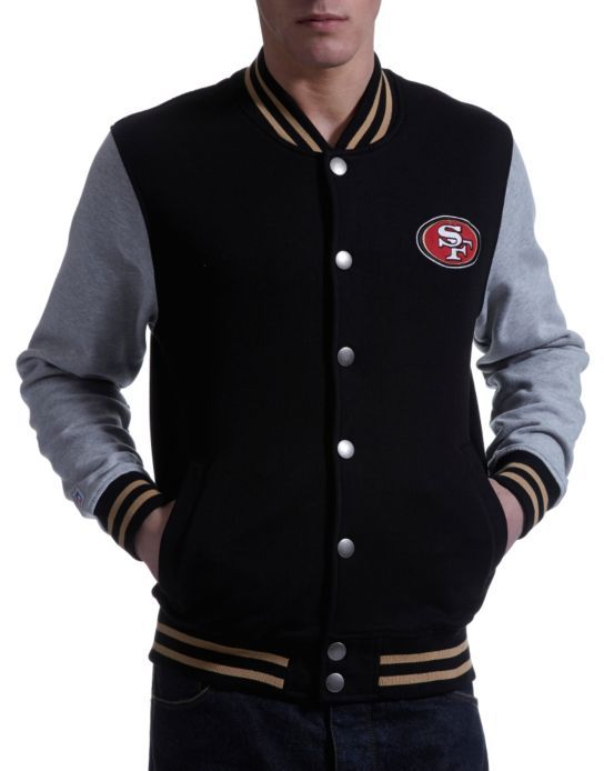 Majestic Athletic NFL San Francisco 49ers Baseball Jacket - JD ...