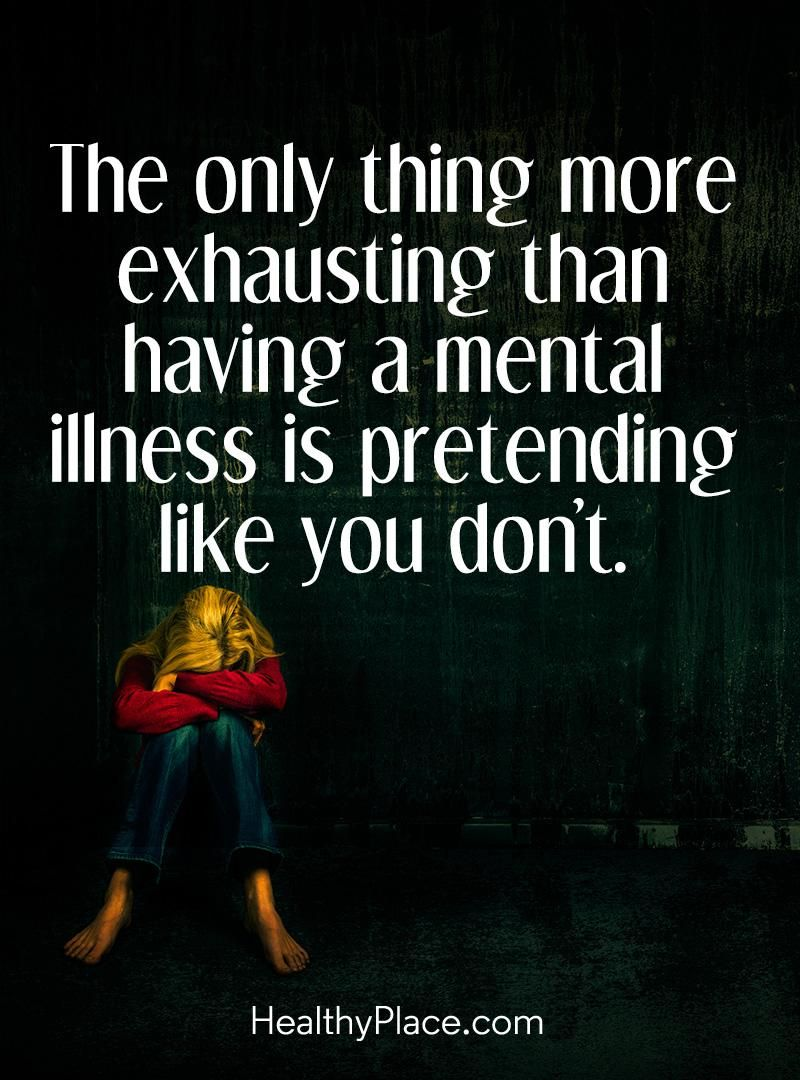 Discrimination Quotes Mental Health Stigma Quote  The Only Thing More Exhausting Than