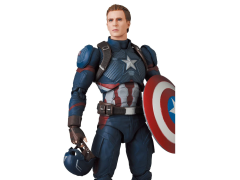 Avengers Endgame Mafex No 130 Captain America In 2021 Captain America Captain Avengers