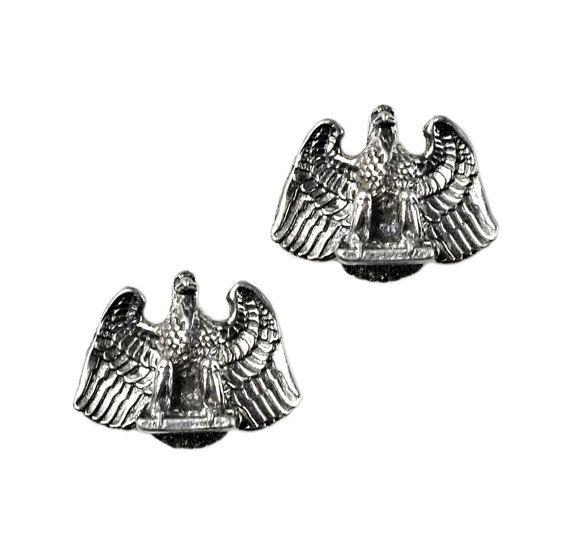 Eagle Cufflinks  Birds  Gifts for Men  Anniversary by Mancornas