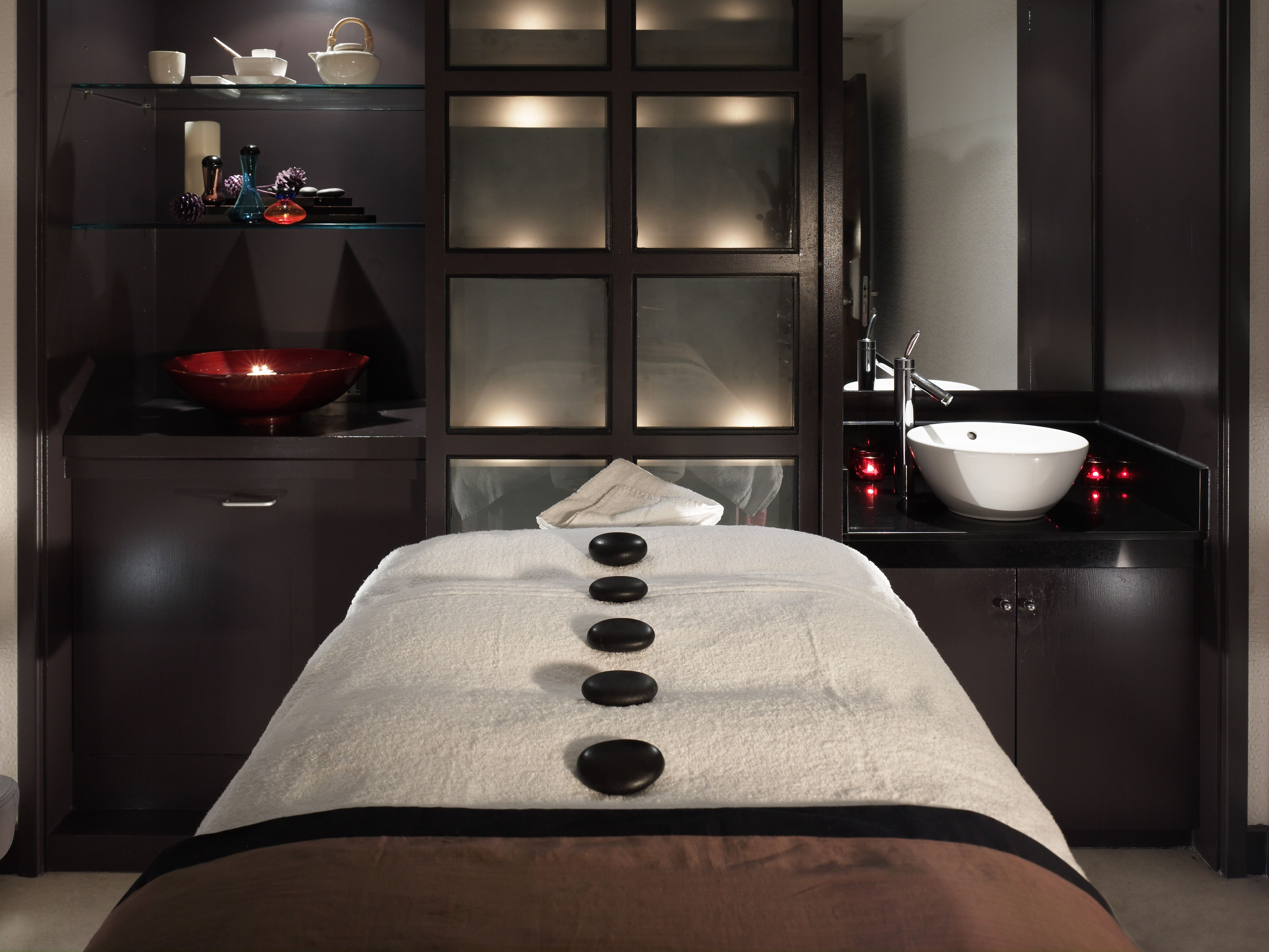 ambiance spa pinterest ambiance salon et esth tique. Black Bedroom Furniture Sets. Home Design Ideas