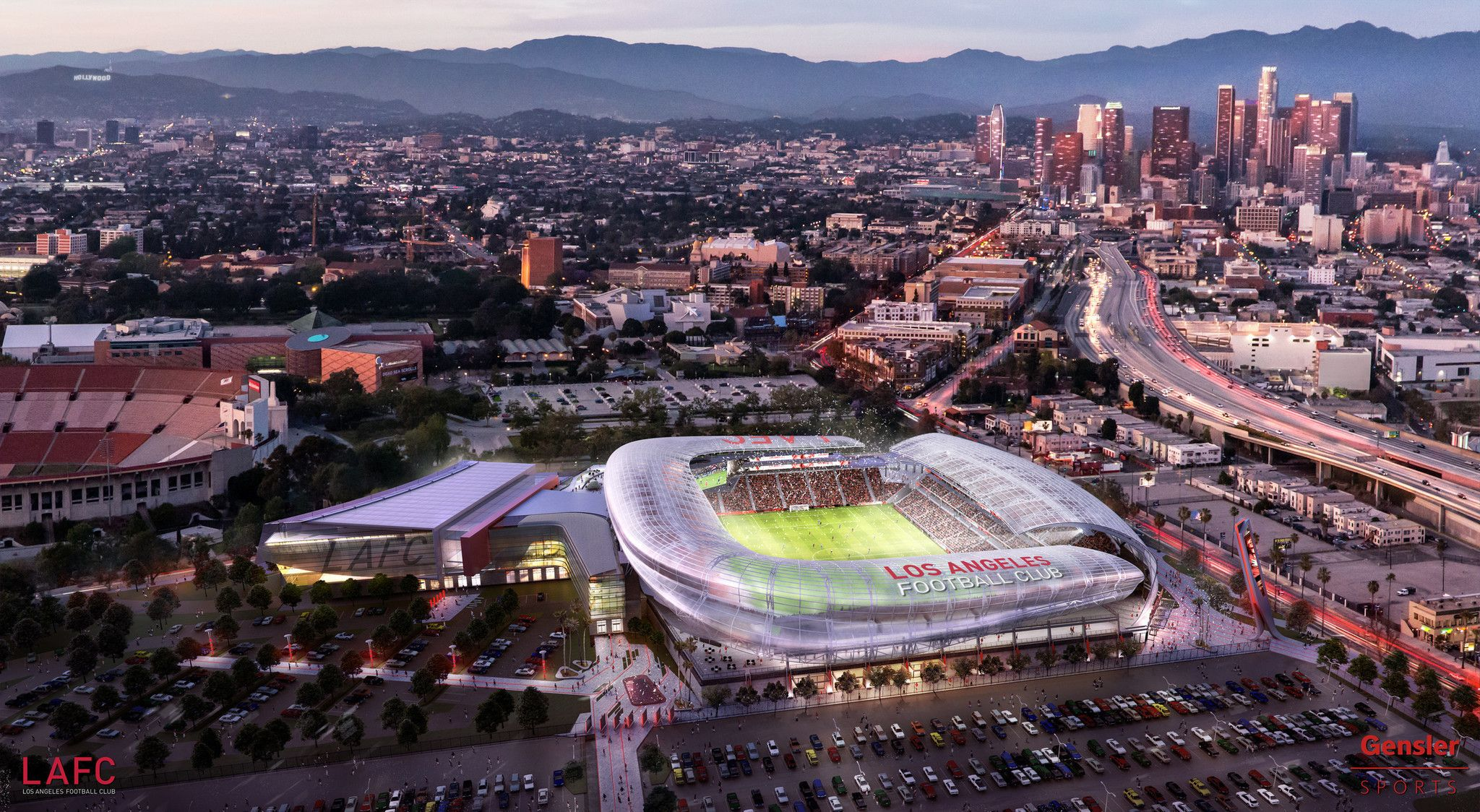 Banc Of California Snags Naming Rights For L A Football Club Soccer Stadium Los Angeles Times Soccer Stadium Sports Arena Los Angeles Football Club