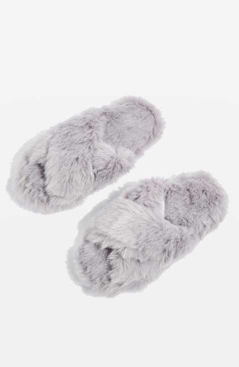 6e521939cc4 Topshop Dolly Faux Fur Slippers