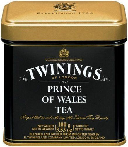 Twinings Prince Of Wales Tea Loose Tea Tins Pack Of 6