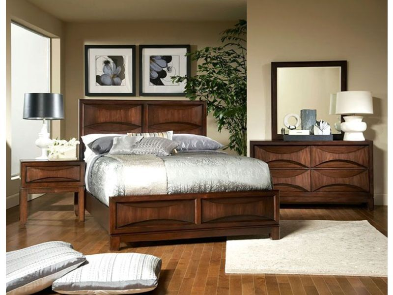 Madden Cal King Bedroom With Footboard Bedroom Furniture Sets