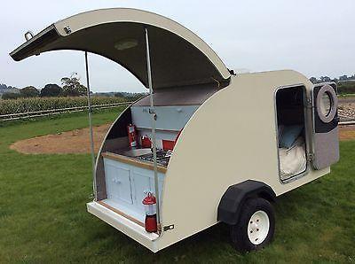Teardrop Caravan Trailer Camping Pod
