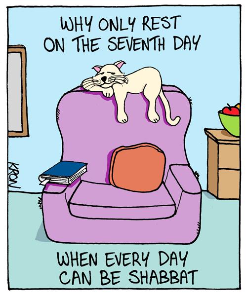 Image result for sabbath cartoons