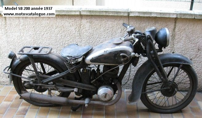 1937 dkw auto union germany sb 200 classic motorcycles. Black Bedroom Furniture Sets. Home Design Ideas