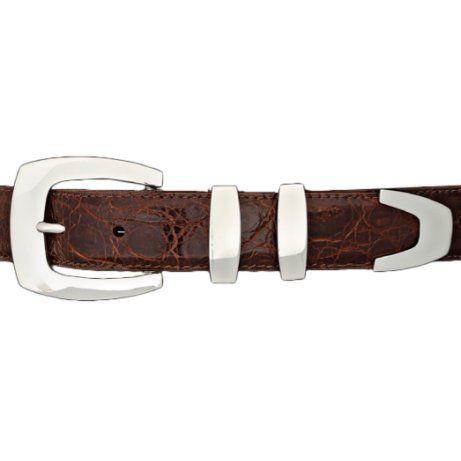 Sterling Silver Buckles - Ranger Buckles, Western Belt Buckles, Silver Buckles, Classic Belt Buckles | Black Arrow - Black Arrow Indian Art