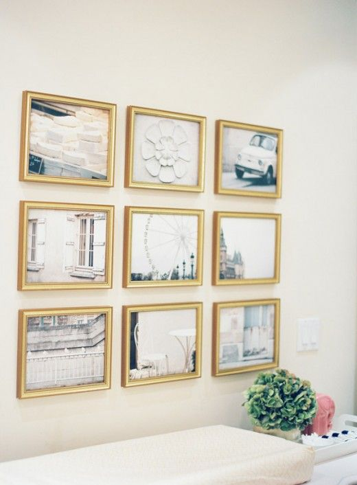 Gold Framed Gallery Wallach Close Upsblack And Whites Sepia