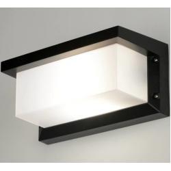 Photo of Wall lamp modern black matt aluminum plastic